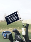 Custom Flag Mount for Golf Cart