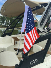 USA Flag for Boat Tower