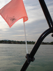 Tower mount flag buddy on Ski Nautic