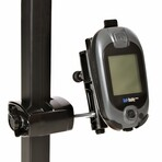 Golf Buddy Pro Mounted to Golf Cart with Caddie Buddy gps Mount.