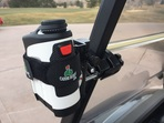 Golf Cart Mount for laser rangefinder