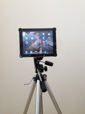 iPad Air Mounted on Tripod