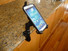 Phone Clamped to Kitchen counter. Caddie Buddy Mount