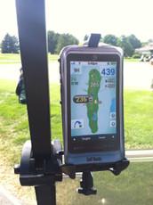 Golf Buddy PT4 Golf Cart Mount by Caddie Buddy