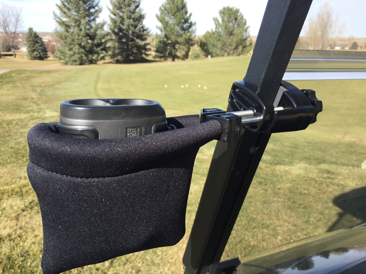 Laser Rangefinder Golf Cart Holder / Mount Pouch Mount - Cad Buddy on golf buddy customer service, golf buddy accessories, golf baby cart, golf buddy support,