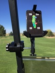 Golf Cart Mount/Holder for Golf Buddy VTX Roof Support Post