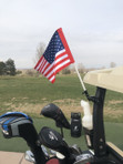American Flag For Golf Cart