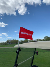 Ranger Golf Cart Flag Mount