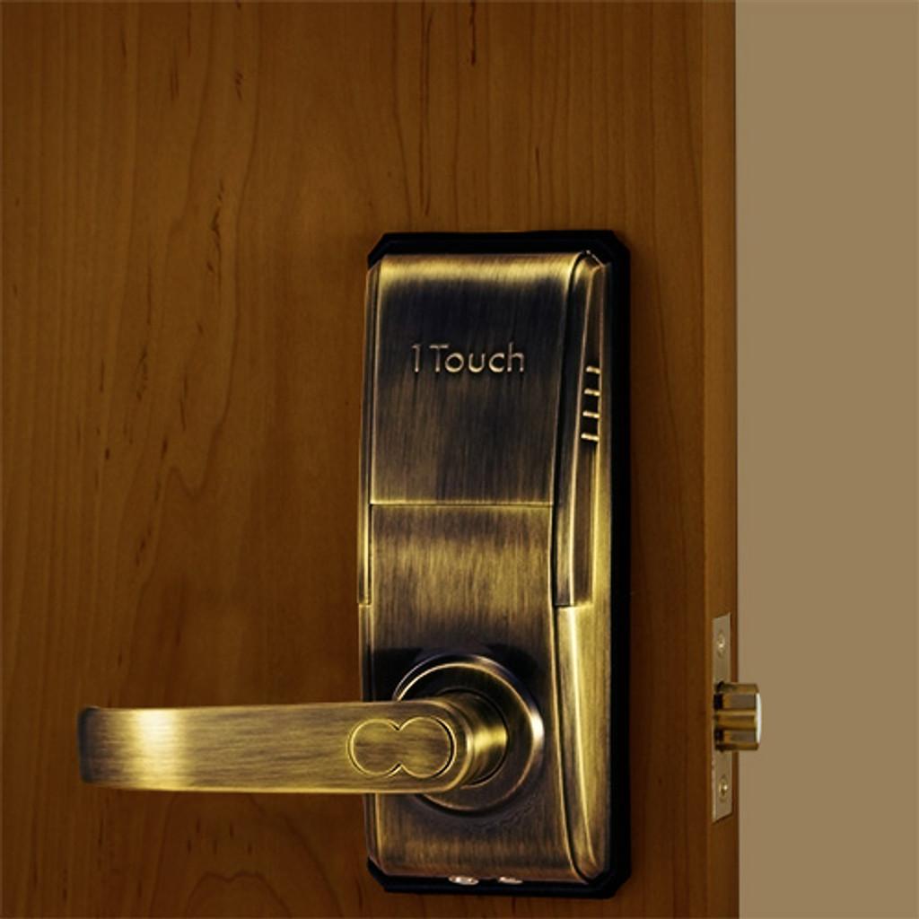Terrific Reversible Fingerprint Door Lock The 1Touch Evo3 Door Handles Collection Dhjemzonderlifede