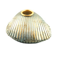 "4300.C - Clam Shell, Candle Holders, Large (17cm / 6.7""), Each"