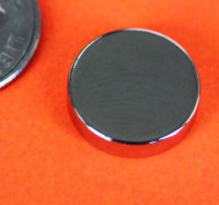 ND031 - Neodymium Magnets 1/2 in x 1/8 in Disc N42