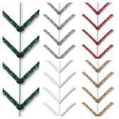 Metallic 9' pencil work garlands (12 Pc)