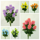 Polka Dot Rose bud bushes X 11 (24 Pc)