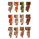 #40 Fall Ribbon (12 Pc)