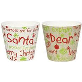 Dear Santa Melamine (24 Pc)