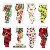 Designer Holiday Ribbon (12 Pc)