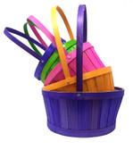 Bright Split Woodchip Baskets (20 Pc)