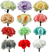 Ashley Rose Bouquets (24 Pc)