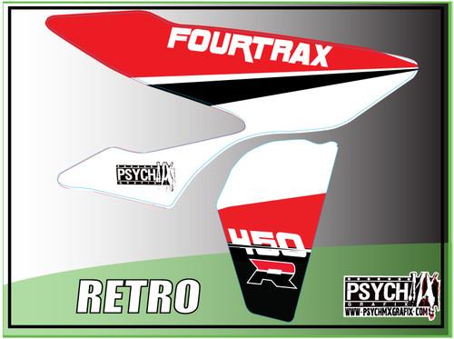 Retro Honda Graphics 450R 250R ATV