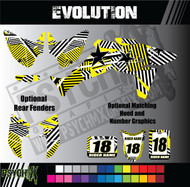 ATV Full Graphics Kit | Evolution Design