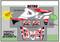 ATV Semi Custom Graphics - White, Black & Red