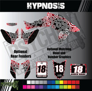 ATV Full Graphics Kit | Hypnosis Design