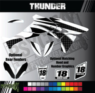ATV Full Graphics Kit | Thunder Design