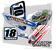 Custom ATV Graphics & Decals