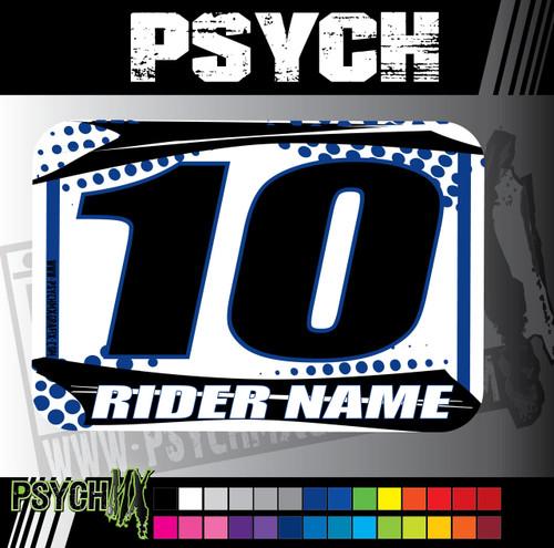 ATV Number Graphic | Psych Design