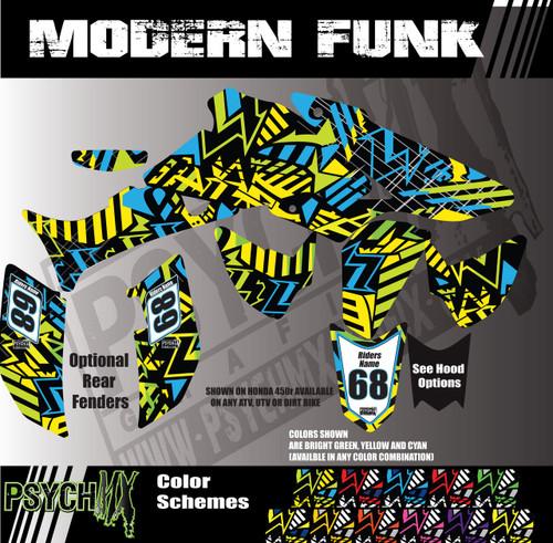 Modern Funk Design Atv Graphics Kit