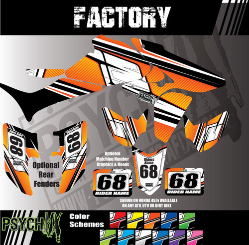 Factory Design in KTM Orange