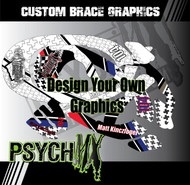 Custom Neck Brace Graphics - Fits, Alpine Star, EVS, Leatt, Atlas, Omega & More