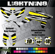 ATV Full Graphics Kit | Lightning