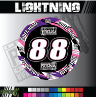 ATV Mud Plug Graphics | Lightning Design