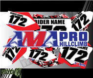 AMA Number Plates