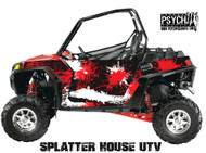 Splatter House Design for Side by Side UTV Graphics, UTV Graphics