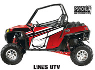 Lines Design for Side by Side UTV Graphics, UTV Graphics