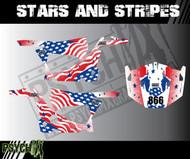 UTV Side by Side Graphics | Stars and Stripes Design