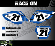 Dirt Bike Number Graphics | Race On Design