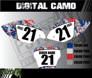 Dirt Bike Number Graphics | DIGITAL CAMO
