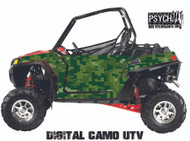 Digital Camo Design for Side by Side UTV Graphics, UTV Graphics