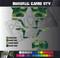 Brushed Camo Design for Side by Side UTV Graphics, UTV Graphics