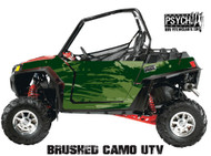 Brushed Camo Design for Side by Side UTV Graphics, UTV Graphics