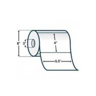 72302 Zebra Z-Select 4000T 6.5x4 Paper Label 2/Case | 72302
