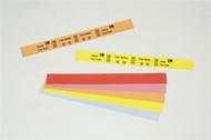 10012714-2 Zebra Z-Band Fun (Yellow) 1x10 Synthetic Label 4/Case | 10012714-2