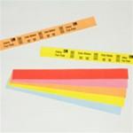 10012719-1 Zebra Z-Band Splash (Red) 1x10 Synthetic Label 4/Case | 10012719-1