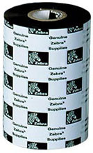 5319 Color Wax, Zebra 5319 Performance Wax Ribbon (Blue, 4.33 inches x 1,476 feet, 12 rolls/case)
