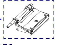 Kit Print Mechanism ZE500-4 LH   P1046696-013   P1046696-013