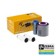 Zebra ix Series monochrome ribbon for ZXP Series 7, Silver   800077-717   800077-717