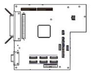Zebra Kit Main Logic Board 4MB (RH & LH) for 170PAX4 34901-041M   34901-041M